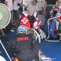 写真: 2014 鈴鹿8耐 CONFIA 周 Motorrad39 高宮義文 高橋芳延 古澤幸也 BMW HP4 94