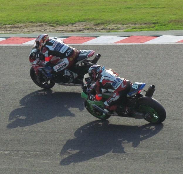 写真: 2014 鈴鹿8耐 Club Bali Racing 中島洋一 森本潤一 野村裕之 KAWASAKI ZX-10R 17