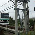 写真: JR福知山線脱線事故  2005年4月25日